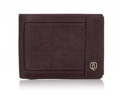 07675a4f5cb363 Piquadro. Portafoglio uomo con portamonete, porta carte di credito e doppio  volantino Vibe ...
