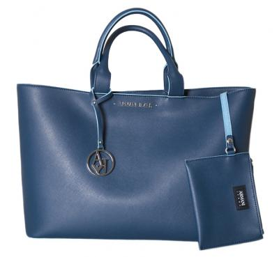 BORSA SHOPPER IN SIMILPELLE SAFFIANO