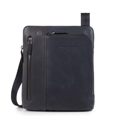 Borsello porta iPad®Air/Pro 9,7 con doppia tasca frontale chiusa da zip Black Square