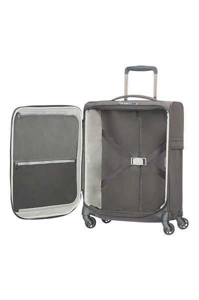 TROLLEY SPINNER 4 RUOTE 55 CM UPLITE CON LUCCHETTO TSA