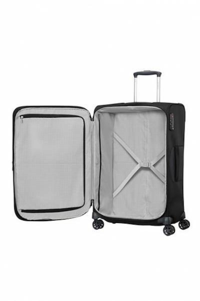 TROLLEY SPINNER 4 RUOTE 55 CM DYNAMORE CON LUCCHETTO TSA
