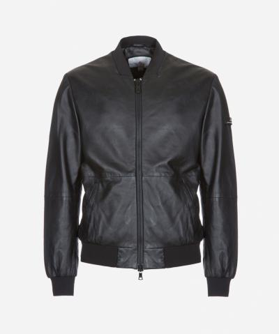 MOYNAQ BOMBER IN PELLE NAPPATA